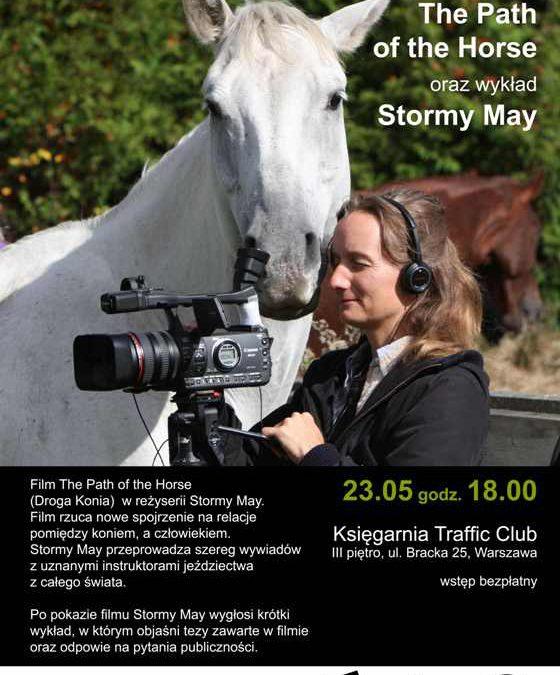 Pokaz filmu i wykład znanej trenerki koni Stormy May